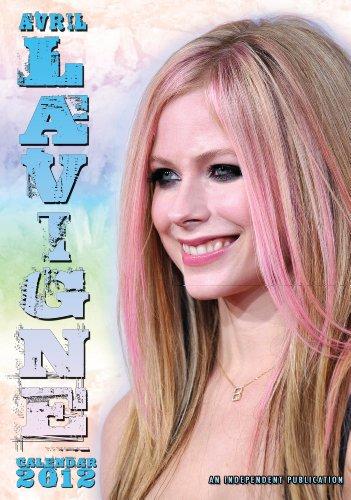 Avril Lavigne Wall Calendar 2012