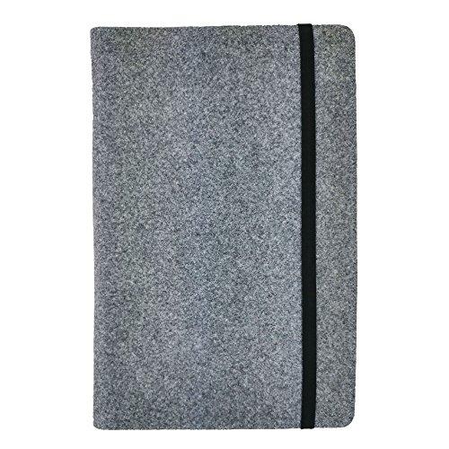 handy-point 13,4-15,6 Zoll Organizer für Laptop Ultrabook MacBook Notebook Tasche aus Filz Filztasche Filzhülle Hülle Tablethülle Schutzhülle mit Kartenfach, Universell (13,4-15,6