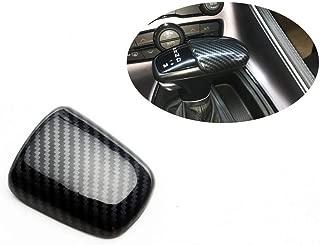 fit for 16-20 Dodge Challenger charger Gear shift knob carbon fiber look cover trim kit