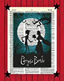 Corpse Bride Victor and Emily Wall Art Tim Burton Movie Wall Decor Corpse Bride Dictionary Art Print 8x10