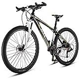 YUANP 29 Pulgadas 33 Velocidades Bicicletas De Montaña Bicicleta De Carretera Marco De Aleación De Aluminio para Mujeres Adultas Hombres Bicicleta De Montaña Rígida Unisex,B-33speed