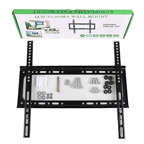 Fontsime ユニバーサル32-70インチLCDTVラック26-55インチ1.2厚GD0214-42インチGD01壁掛け液晶テレビラックディスプレイスタンド黒GD0226-55 1.2厚