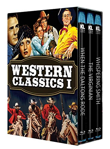Western Classics I [When the Daltons Rode / The Virginian / Whispering Smith] [Blu-ray]