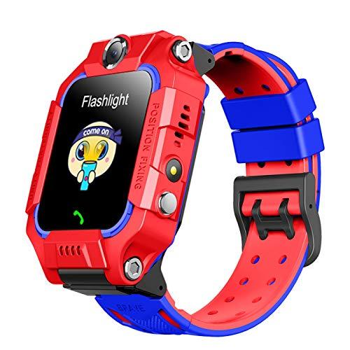 Kinder-Smartwatch für Kinder, Android-SIM-Karte, IP67, wasserdicht, 360° drehbar, Dual-Kamera-Video, Sprechen, für Kinder, Geschenke