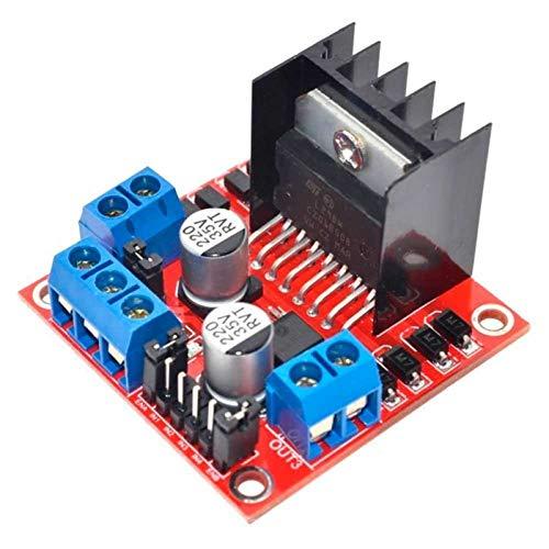 WSCHENG L298N Module Dual H Bridge Drive Board For DC Stepper Motor Smart Car Robot Controller Raspberry Pi PIC AVR DIY