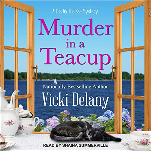 Murder in a Teacup Audiobook By Vicki Delany cover art