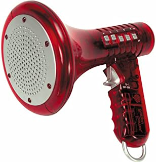 Red Multi Voice Changer by Toysmith: Change your voice with 8 different voice modifiers - Kids Toy (Color is Red)