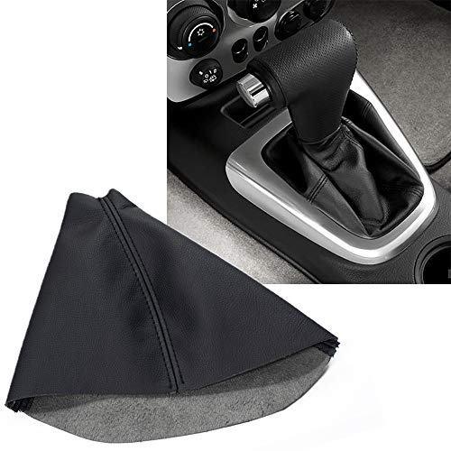 KBH Auto Car Shift Knob Cover for Hummer H3 2005-2011 Vinyl Microfiber Leather Automatic Vehicle Shifter Shift Boot Cover Replacement Black