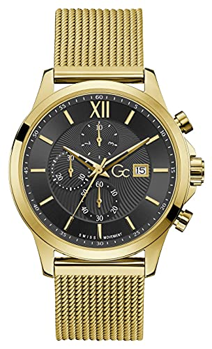Gc Guess Collection Y27008G2MF Executive Heren horloge 44 mm