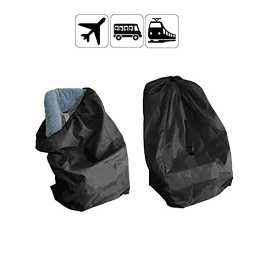 Skid-Proof Padded Shoulder Strap Foldable for Airport Airplane Gate Check Car Trips Beschan Durable 84 * 45 * 45 cm Child Car Seat Travel Bag