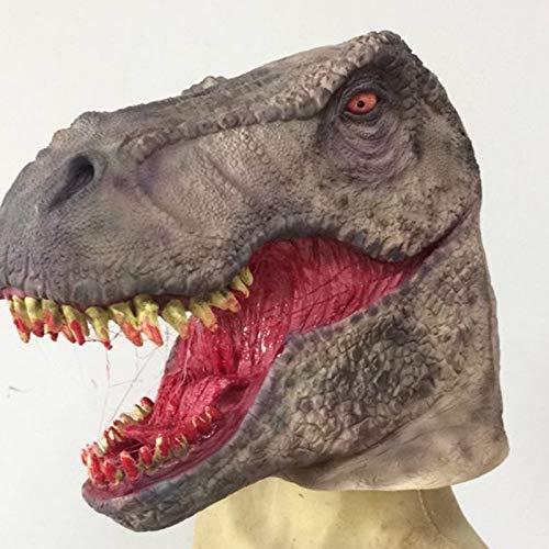 WSJMJ Maskers Halloween Masker Eco Latex Enge Dinosaur Masker Make-up Prom Party Props