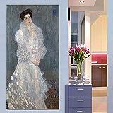 Sin Marco Gustav Klimt Mujeres Pinturas de Lona Doradas Clásicas Pintura al óleo Cuadros de Pared para Sala de Estar Grandes lienzos Cuadros Decorativos 60x120cm