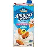 Almond Breeze Almondmilk, Unsweetened Vanilla, 32 oz