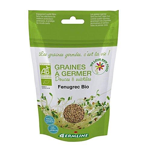 Germline - Graines à germer bio - Fénugrec - 150g