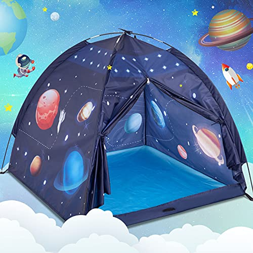Play Tent for Kids, Gentle Monster Space World Tent, Universe Tent Indoor Playhouse for Boy,...