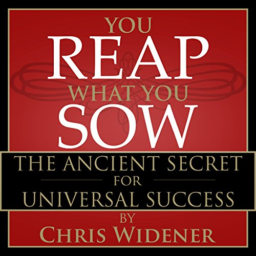 You Reap What You Sow cover art