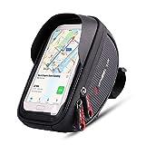 MidGard Soporte Multifuncional para teléfono Inteligente con Bolsa de Marco de Bicicleta, Bolsa para teléfono Celular para Bicicleta