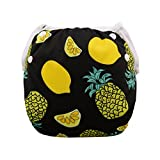 babygoal Baby Swim Diapers, Reuseable Washable and Adjustable for Swimming, Outdoor Activities and Daily Use, Fit Babies 0-2 Years SW13-CA