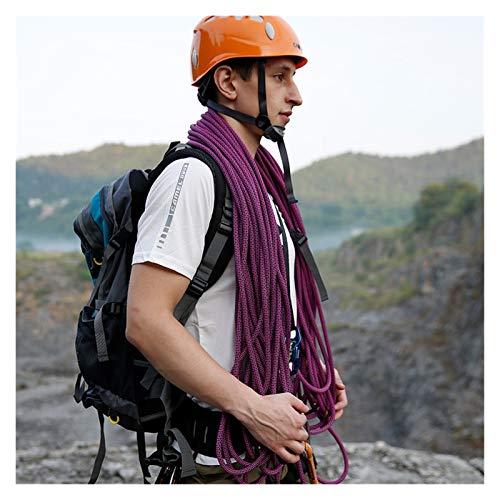 SHANG-JUN Campa DE Camping Cuerda Estática De 12 Mm Roca Al Aire Libre Solución De Escalada De La Cuerda De La Cuerda De La Altitud De La Alta Altitud 10m Cuerda de Senderismo (Size : 12mm Orange)