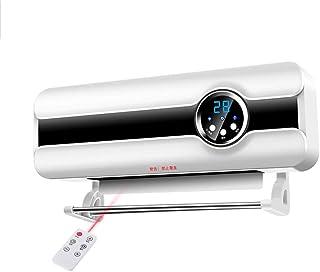 Radiador eléctrico MAHZONG Calentador de Pared Grande para Interiores y baños con Control Remoto, Impermeable y Ahorro de energía -2000W