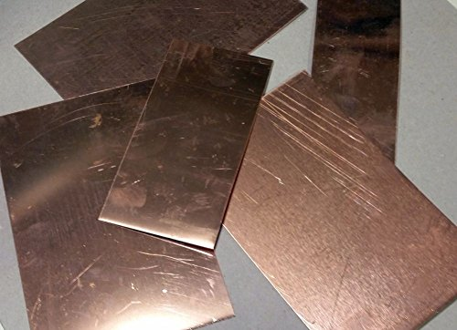 Copper Scrap - 1 Pound - Flats