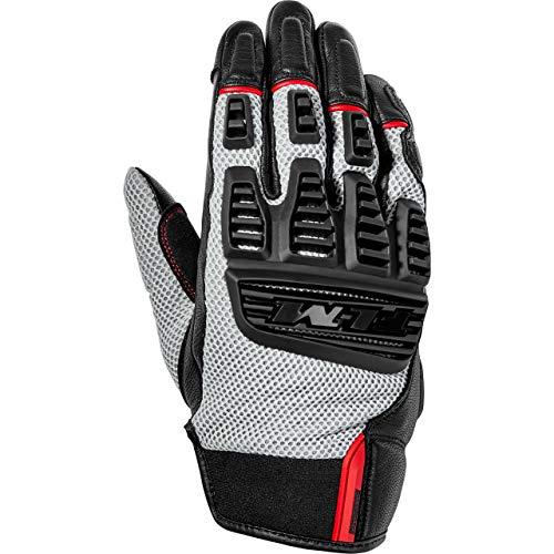 FLM Motorradhandschuhe kurz Motorrad Handschuh Sommer Textilhandschuh 1.0 sand/schwarz 8, Herren, Sportler, beige