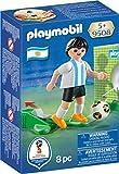 Playmobil Fútbol- Jugador Argentina Muñecos y Figuras, Multicolor, 4,5 x 14,2 x 9,3 cm (Playmobil 9508)