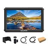 Lilliput A5 5 Pulgadas 1920x1080 HD 441ppi IPS DSLR Camera Field Monitor 4K HDMI Input Output GH5 GH5s 5D 7D A7 A7R A7S III A9 DSLR Zhiyun Crane 2 M dji Ronin-S + Batería