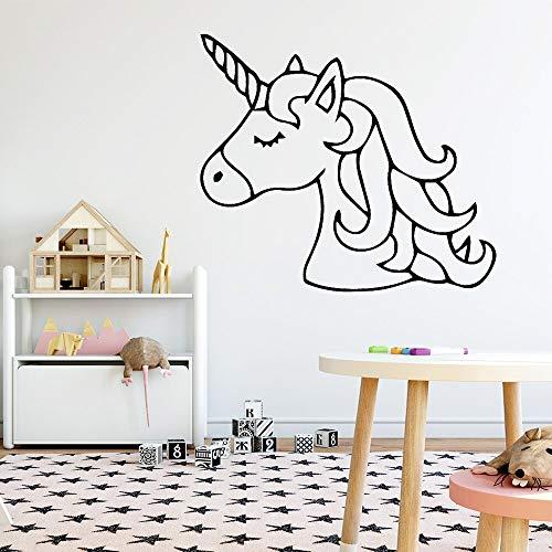 Sanzangtang Mooie dier-muursticker muurkunst sticker moderne mode muursticker kinderkamer sticker