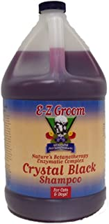 EZ Groom Crystal Black Dog Shampoo Gallon - Concentrated