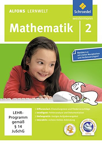 Alfons Lernwelt Mathematik 2 Einzelplatzlizenz