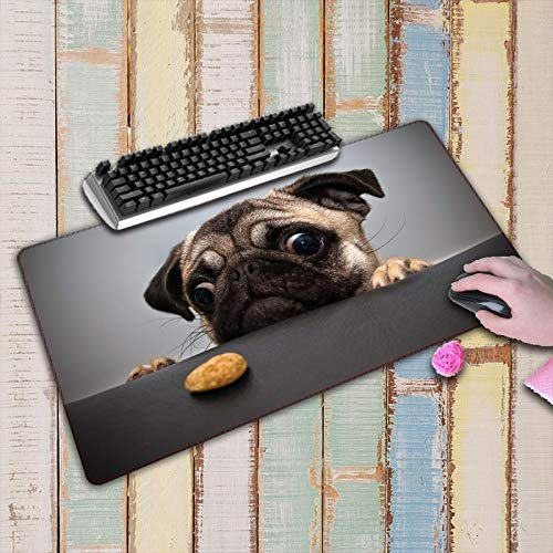 Cute Dog Print Large Mouse Pad Laptop Accessories Pad Mouse Desk Mat Computer Keyboard Pad 800X300X3Mm