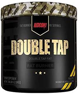 Redcon1 Double Tap Powder, Orange Crush, 7.09 Ounce
