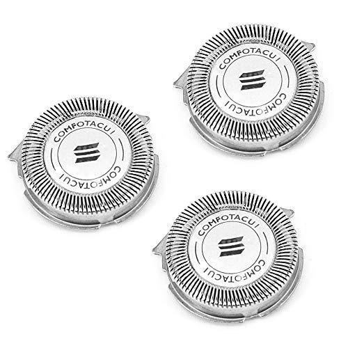 3 cabezales de repuesto para afeitadora SH30 / 52 cuchillas de repuesto para Philips Norelco Series 3000 2000 1000 S738
