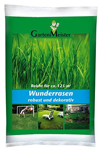 GartenMeister GM2.5 Wunderrasen 2,5 kg Rasenpflege Rasenreparatur Rasensaat für Rasenregeneration