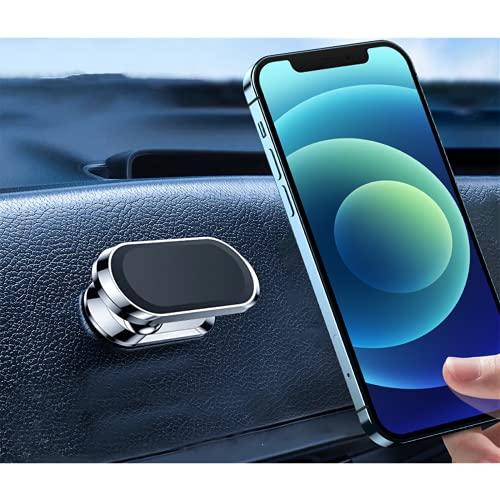 Cekell 2 piezas Adecuado para Magsafe soporte para teléfono móvil con ventilación, adecuado para iPhone12, Samsung, etc. Soporte para automóvil con imán fuerte autoadhesivo giratorio de 360 °