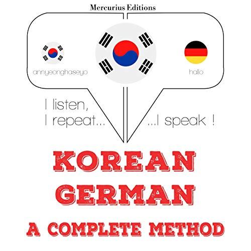 Korean – German. A complete method cover art