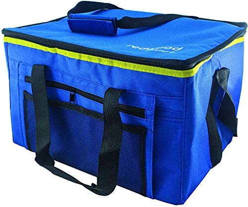 Fineway Large 24 Litre 48 Can Insulated Cooler Cool Bag Collapsible Picnic Camping