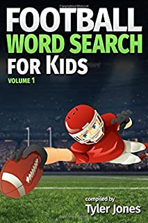 Football Word Search for Kids: Puzzles for fans of all the NFL teams!