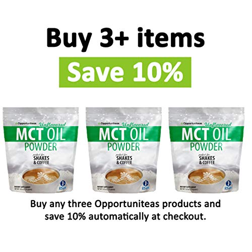 MCT Oil Powder - Bulk 2.5 lb Size - Delicious Creamer for Coffee, Tea, Smoothie, Recipe - Perfect Supplement for Keto, Ketogenic Diet - Easy Digestion & Instant Energy - Non GMO, Gluten & Soy Free 6