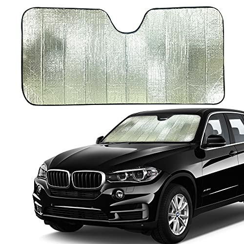 EcoNour Accordion Sun Shade for Car | Car Shade...