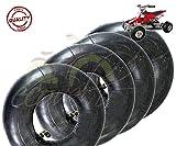 Set aus 4 Luftkammern 3.00-4 VF TR87 Metallventil aus Eisen für CARRELLINO Kartenhalter Mini QUAD Gummi Reifen Reifen Reifen