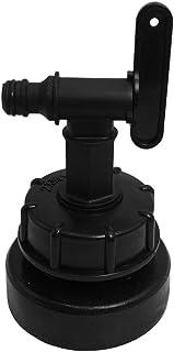 Homyl IBC Adaptador de torneira para tanque – conector (58/80/100 mm), peças de substituição para encaixe de válvula para ...
