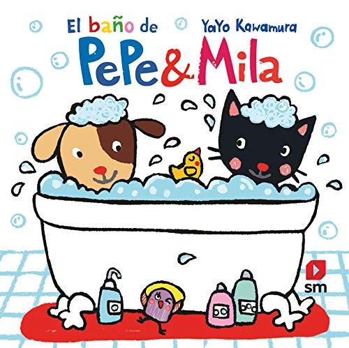 Libro de baño de Pepe & Mila (Pepe y Mila)