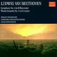 Ludwig van Beethoven: Symphony NO. 4; Piano ConcertoNo. 4 by Beethoven (2008-11-28)