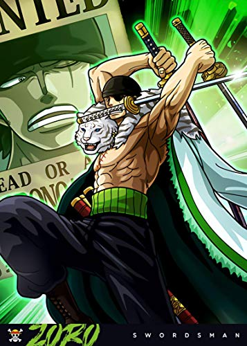 XIAOLINJIE Anime Zoro Canvas Art Poster and Wall Art Picture Print Modern Family Bedroom Decor Posters 22x34inch(56x85cm) NoFramed
