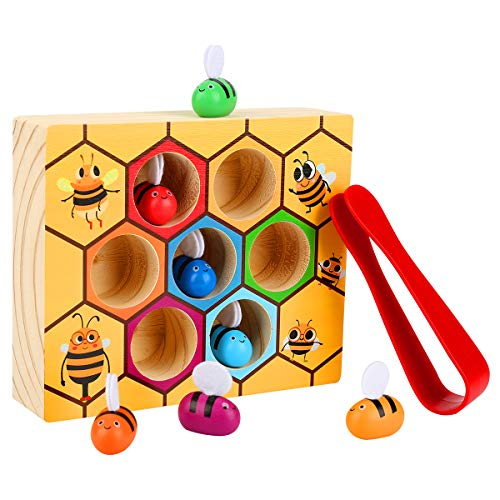 Counting Ladybugs- Montessori Counting Toys for Toddlers