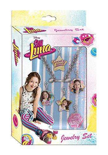 Soy Luna- Set de colgantes para pulsera, unica (Kids Euroswan WDSL016)