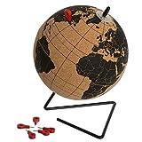 Atmosphera Collect Moments Globo terráqueo de corcho, 15 cm de diámetro