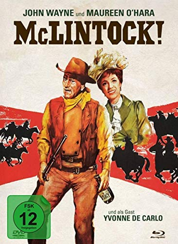 McLintock - 2-Disc Limited Collector's Edition im Mediabook (Blu-ray + DVD)